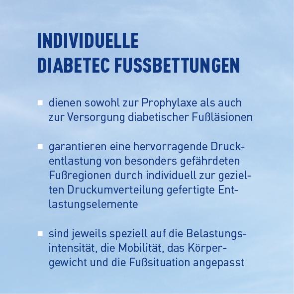Einlagen für Diabetiker Textbaustein 3