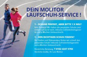 Ihr Molitor Laufschuh-Service